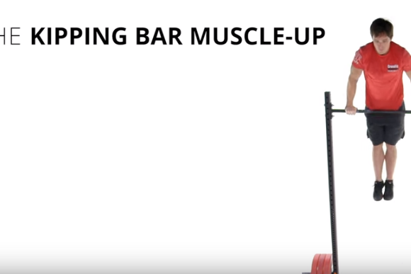 kippingbarmuscle up