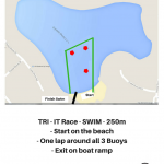 TRI - IT SWIM Map