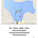 TRI - IT SWIM Map